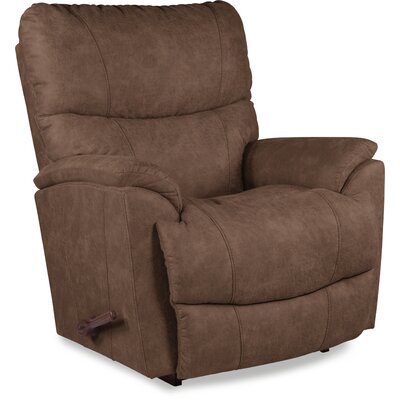 Trouper Rocker Recliner Upholstery: Brown