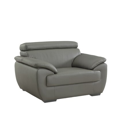 Haworth Luxury Upholstered Living Room Club Chair Upholstery: Gray