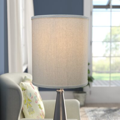 12 Couture Drum Lamp Shade Color: Natural