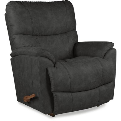 Trouper Rocker Recliner Upholstery: Dark Gray