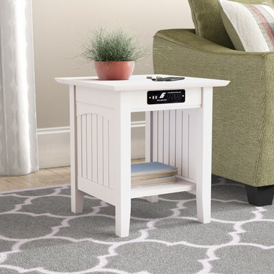 Image of Orangetown End Table Color: White