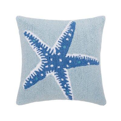 Chatman Starfish Hooked Throw Pillow