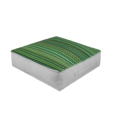 Sedlak Outdoor Floor Pillow Color: Green