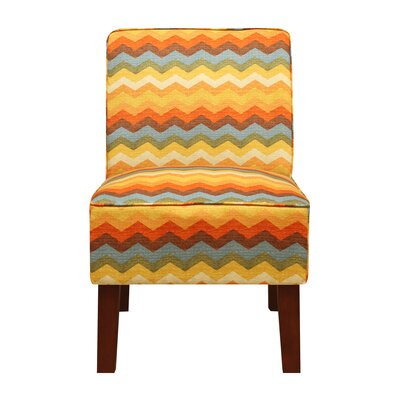 Henriques Slipper Chair Upholstery: Adobe Panama Wave