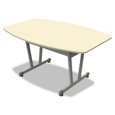 Beatriz Boat Shaped 29.5 H x 50.12 W X 39.5 D Conference Table