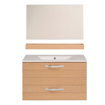Izayah 31 Single Bathroom Vanity Set