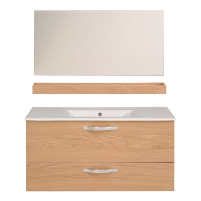 Izayah 39 Single Bathroom Vanity Set