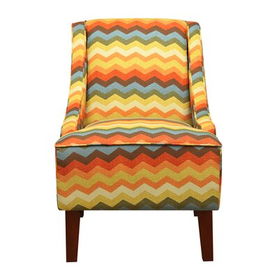 Gilpin Swoop Panama Wave Slipper Chair
