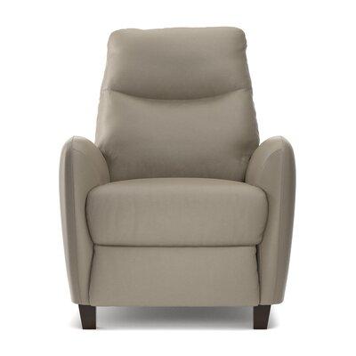 Metzler Manual Recliner Upholstery: Cream