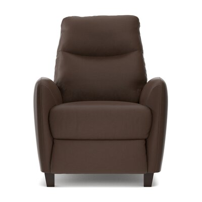 Metzler Manual Recliner Upholstery: Brown