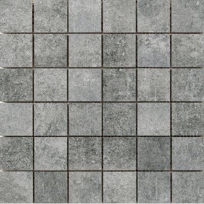 Chiado Mosaic 2 x 2 Porcelain Mosaic Tile in Midas