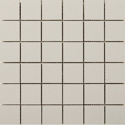 Choice 2 x 2 Porcelain Mosaic Tile in Matte Fawn