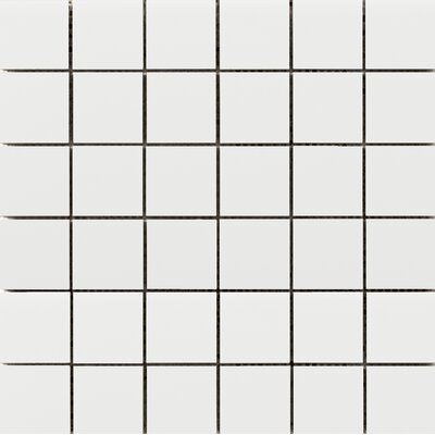 Choice 2 x 2 Porcelain Mosaic Tile in Matte White