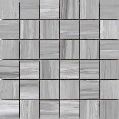 Ciudad 2 x 2 Ceramic Mosaic Tile in Gray