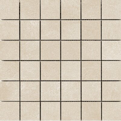 Anthem 2 x 2 Ceramic Mosaic Tile in Sand
