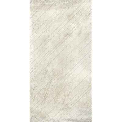 Borigni Diagonal-R 18 x 35 Porcelain Field Tile in White
