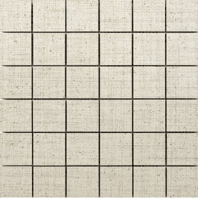 Canvas 2 x 2 Porcelain Mosaic Tile in Angora