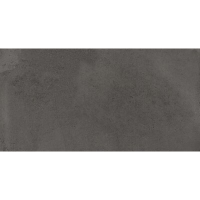 Borigni 18 x 35 Porcelain Field Tile in Black