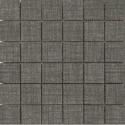 Canvas 2 x 2 Porcelain Mosaic Tile in Denim