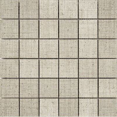 Canvas 2 x 2 Porcelain Mosaic Tile in Khaki