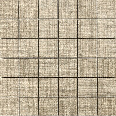 Canvas 2 x 2 Porcelain Mosaic Tile in Linen