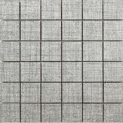 Canvas 2 x 2 Porcelain Mosaic Tile in Tweed