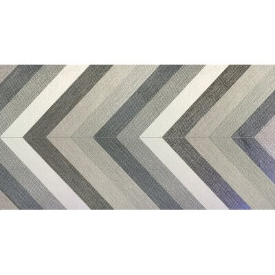 Dunham 23 x 47 Porcelain Field Tile in Chevron