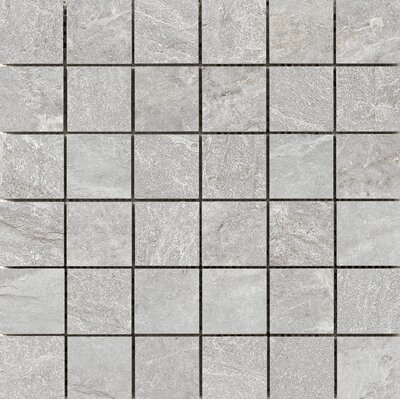 Milestone 2 x 2 Porcelain Mosaic Tile in Moon