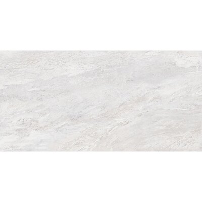 Milestone 12 x 24 Porcelain Field Tile in White