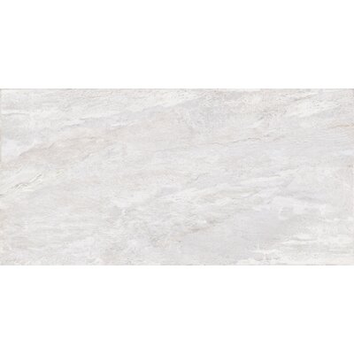 Milestone 24 x 47 Porcelain Field Tile in White