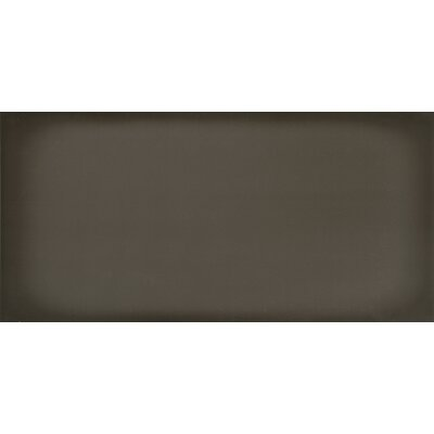 Ombre 6 x 12 Ceramic Subway Tile in Glossy Graphite