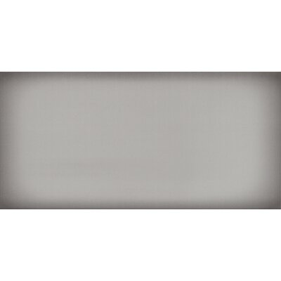Ombre 6 x 12 Ceramic Subway Tile in Glossy Silver