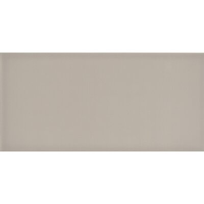Ombre 6 x 12 Ceramic Subway Tile in Glossy Taupe