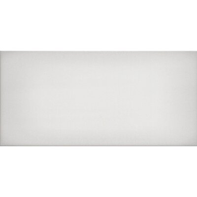 Ombre 6 x 12 Ceramic Subway Tile in Glossy White