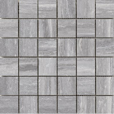 Esplanade 2 x 2 Porcelain Mosaic Tile in Trail