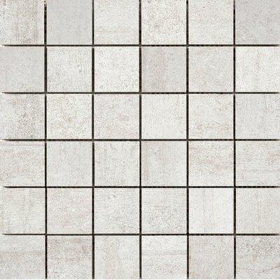 Formwork 2 x 2 Porcelain Mosaic Tile in Bond