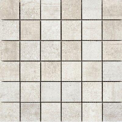 Formwork 2 x 2 Porcelain Mosaic Tile in Link