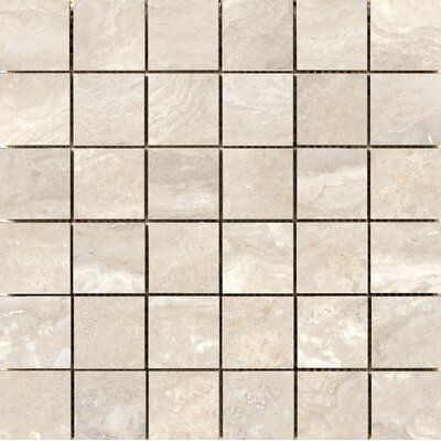 Quest Polished 2 x 2 Porcelain Mosaic Tile in Ivory