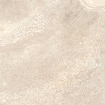 Quest Polished 32 x 32 Porcelain Field Tile in Ivory