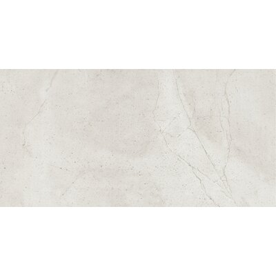 Quest Polished 12 x 24 Porcelain Field Tile in Silver