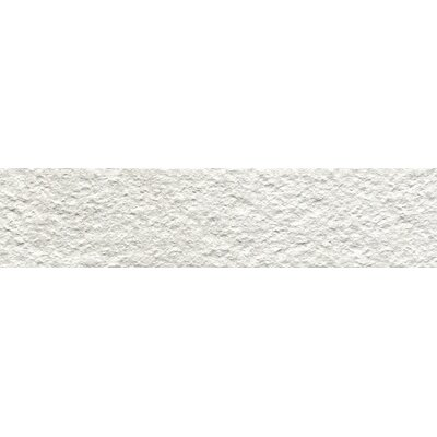Metaphor 3 x 12 Porcelain Splitface Tile in White