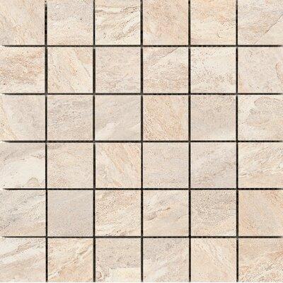 Milestone 2 x 2 Porcelain Mosaic Tile in Dust