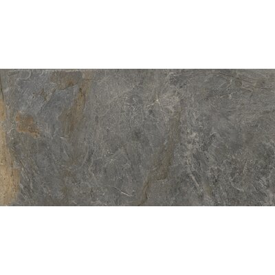 Milestone 24 x 47 Porcelain Field Tile in Gray