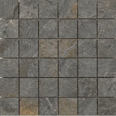 Milestone 2 x 2 Porcelain Mosaic Tile in Gray