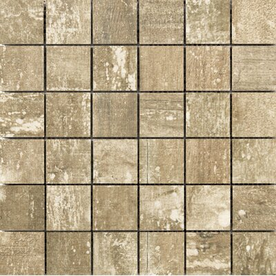 Ranch 2 x 2 Porcelain Mosaic Tile in Lodge