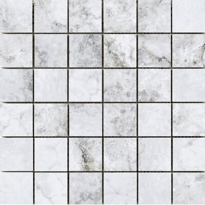 Gateway 2 x 2 Porcelain Mosaic Tile in Grigio