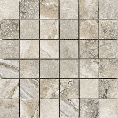 Gateway 2 x 2 Porcelain Mosaic Tile in Noce