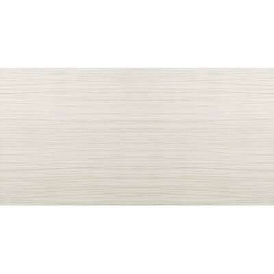 Thread 12 x 24 Porcelain Field Tile in Ivory