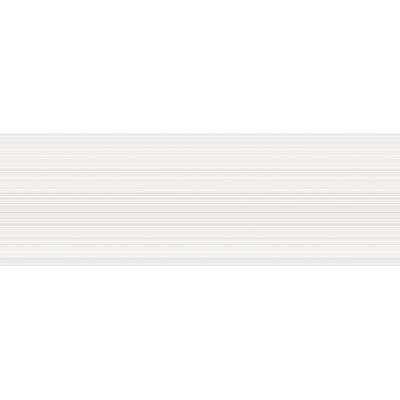 Vertigo 10 x 30 Ceramic Field Tile in White Linear