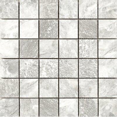 Vienna 2 x 2 Porcelain Mosaic Tile in Brahmms